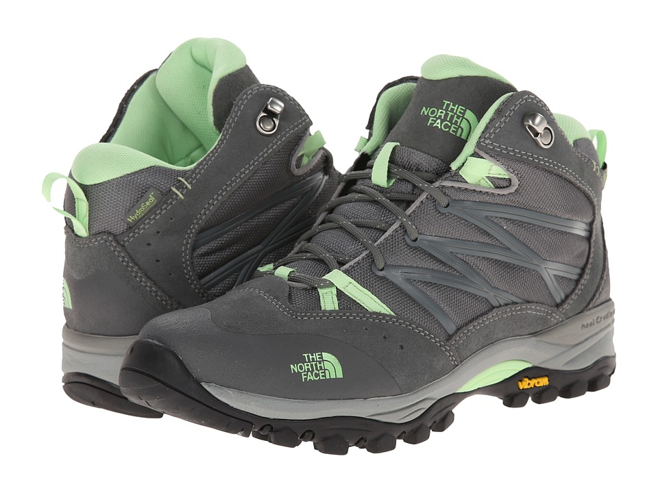 The North Face - Storm II Mid WP (Limestone Grey/Paradise Green) Women's Cold Weather Boots