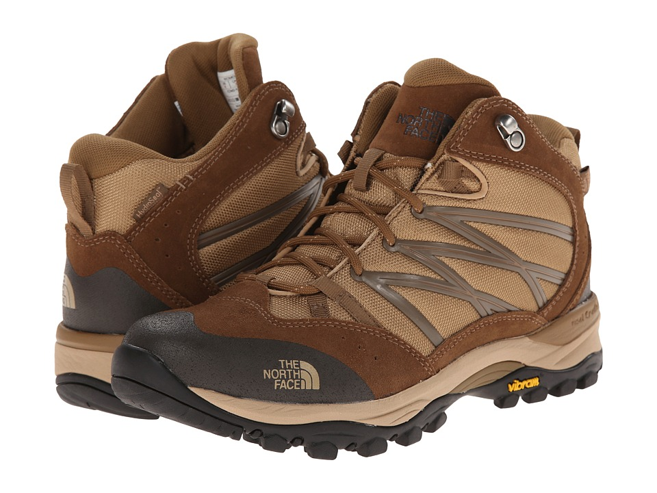 The North Face - Storm II Mid WP (Moab Khaki/Sepia Brown) Women's Cold Weather Boots