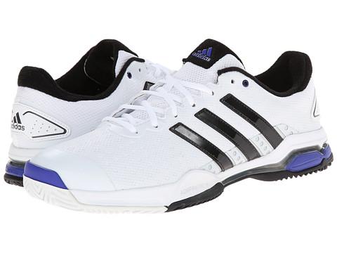 adidas - Barricade Team 4 (White/Iron Metallic/Black) Men