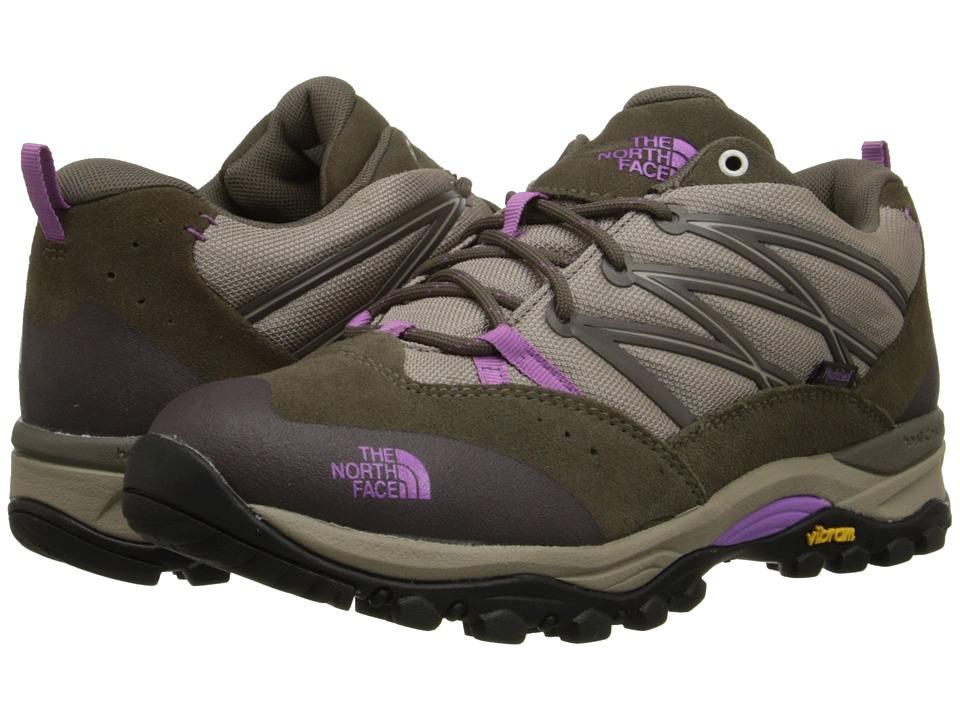 The North Face - Storm II WP (Vintage Khaki/Iris Orchid Purple) Women's Shoes