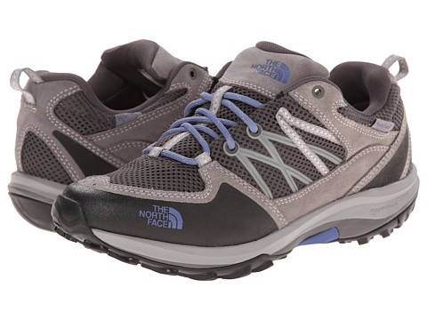 The North Face - Storm Fastpack WP (Dark Gull Grey/Marlin Blue) Women's Cross Training Shoes