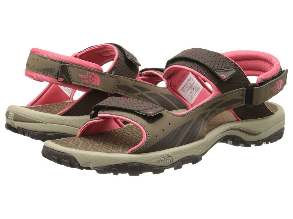 The North Face - Storm Sandal (Cub Brown/Fiesta Red) Women's Shoes