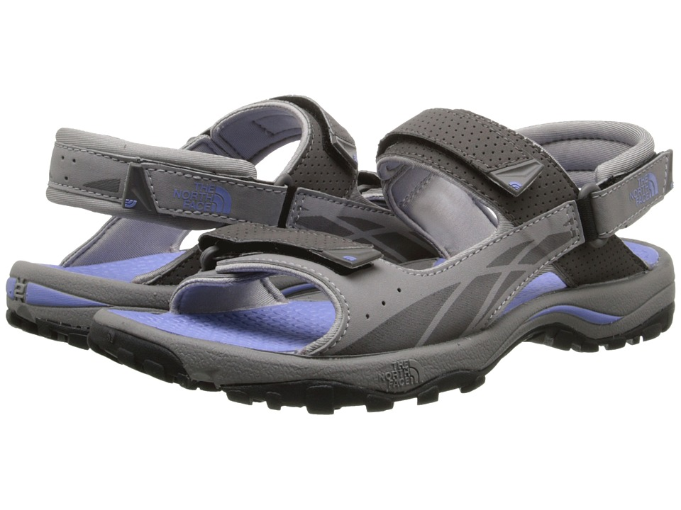 The North Face - Storm Sandal (Q-Silver Grey/Grapemist Blue) Women's Shoes
