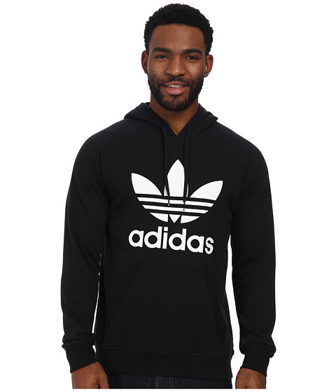 adidas Originals - Original Trefoil Hoodie (Black/White) Men