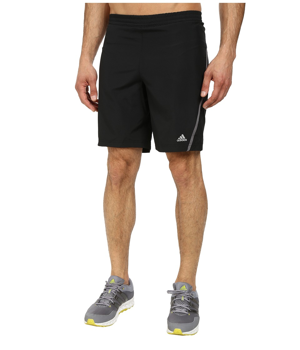 adidas - Money 9 Running Short (Black/Granite) Men