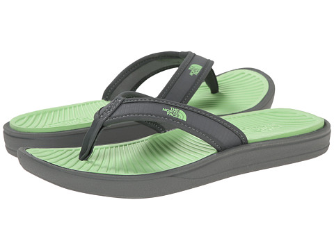 The North Face - Base Camp Lite Flip-Flop (Sedona Sage Grey/Paradise Green) Women's Sandals