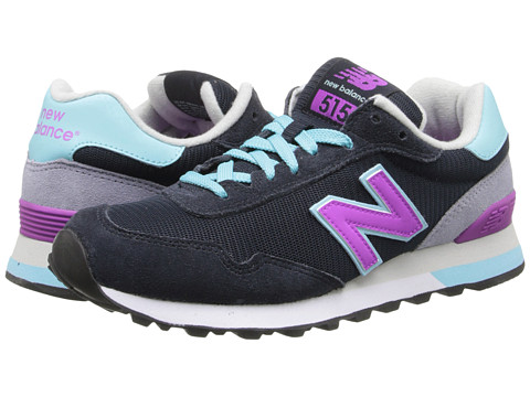 New Balance - WL515 (Stormy Night/Violet) Women's Classic Shoes