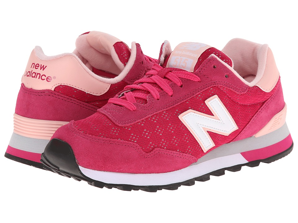 New Balance Classics - WL515 (Vivid Rose/Luxe Pink) Women's Classic Shoes