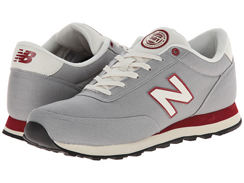 New Balance Classics - ML501 (Silver/Biking Red) Men's Classic Shoes