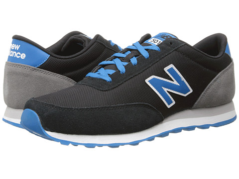 New Balance Classics - ML501 (Black/Wave) Men's Classic Shoes