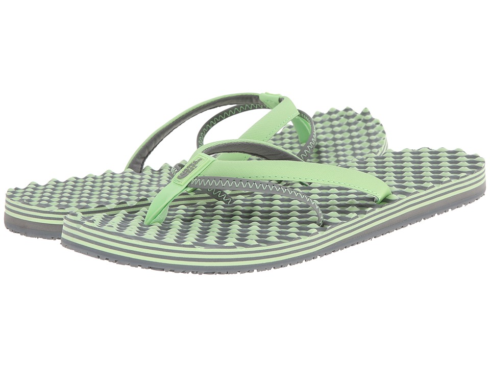The North Face - Base Camp 5-Point (Paradise Green/Sedona Sage Grey) Women's Sandals