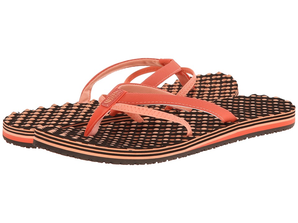 The North Face - Base Camp 5-Point (Emberglow Orange/Punch Orange) Women's Sandals