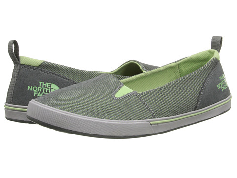 The North Face - Base Camp Lite Skimmer II (Sedona Sage Grey/Paradise Green) Women's Slip on Shoes