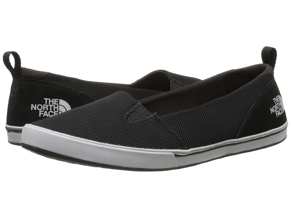 The North Face - Base Camp Lite Skimmer II (TNF Black/Spackle Grey) Women's Slip on Shoes