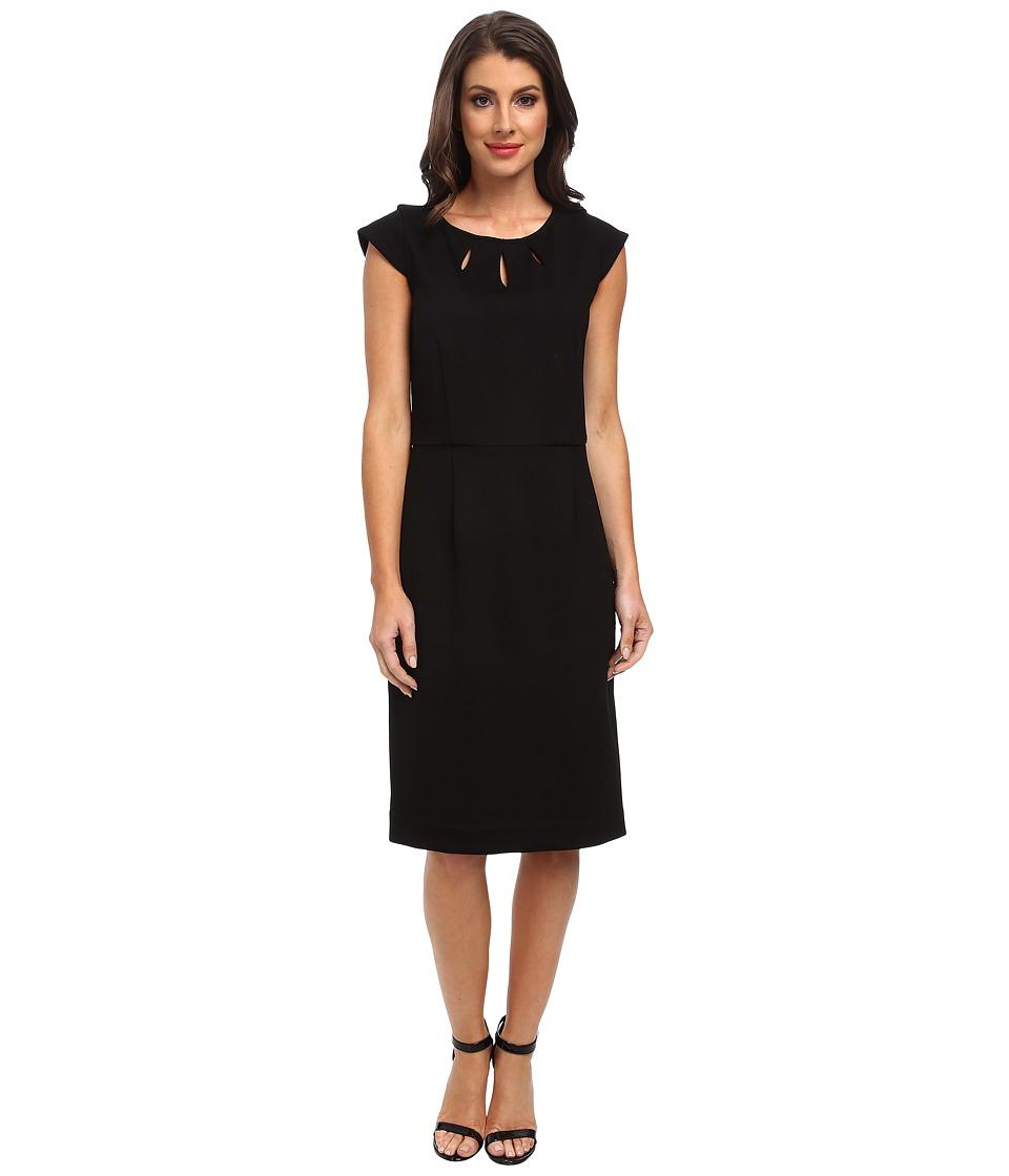 Pendleton - Juliette Dress (Black Ponte) Women's Dress