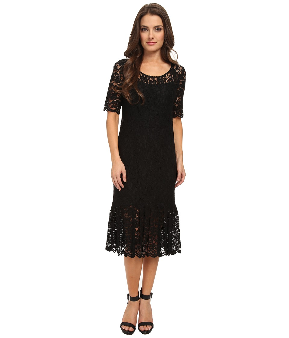 Pendleton - Petite Collette Dress (Black Lace) Women's Dress