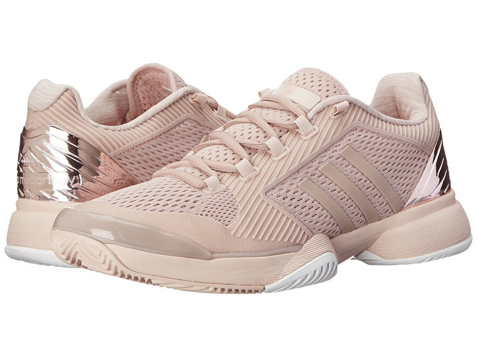 adidas - Stella McCartney Barricade 2015 (Light Pink/Light Flash Red) Women's Tennis Shoes