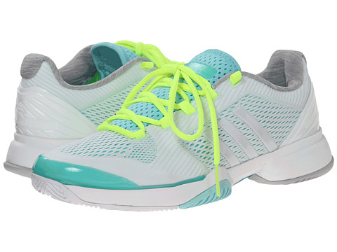 adidas - Stella McCartney Barricade 2015 (Minty Green/White Vapor/Light Flash Green) Women's Tennis Shoes