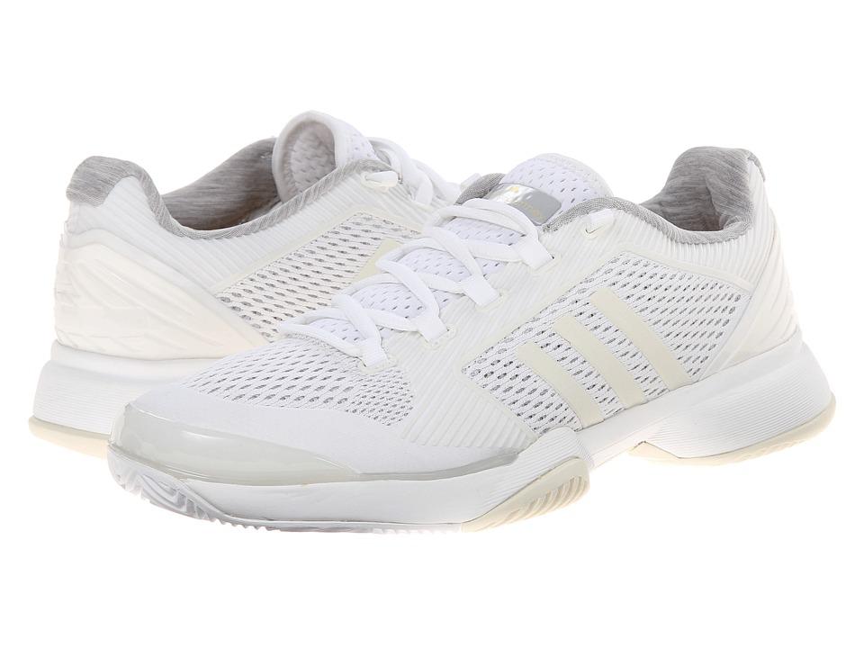 adidas - Stella McCartney Barricade 2015 (White/Amber Yellow) Women's Tennis Shoes