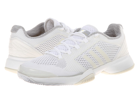 adidas - Stella McCartney Barricade 2015 (White/Amber Yellow) Women