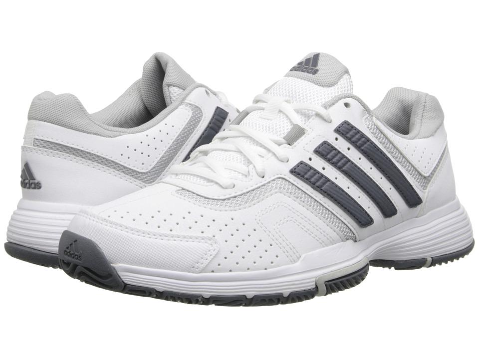 adidas - Barricade Court (White/Onix/Clear Onix) Women's Tennis Shoes