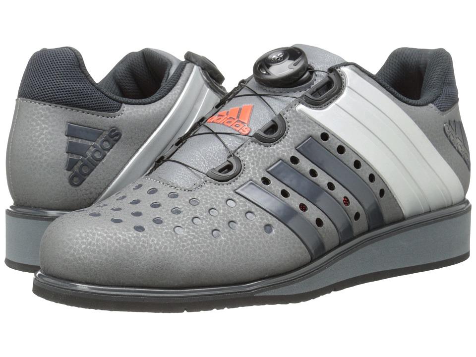 adidas - Drehkraft (Iron Metallic/Dark Grey/Silver Metallic) Men's Shoes