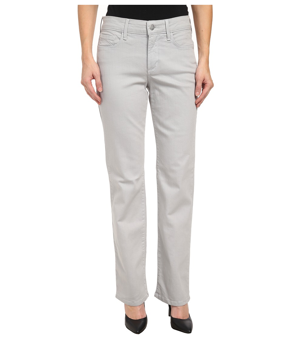 NYDJ Petite - Petite Marilyn Straight Jean (Moonstone Grey) Women's Jeans