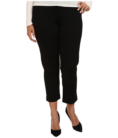 Pendleton - Plus Size Juliette Pant (Black Ponte) Women's Dress Pants