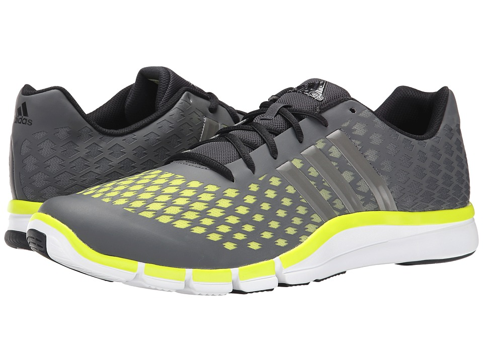 adidas - Adipure 360.2 Primo (Dark Grey/Iron Metallic/Semi Solar Yellow) Men