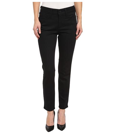 NYDJ Petite - Petite Clarissa Skinny Ankle Fine Line Twill in Black (Black) Women