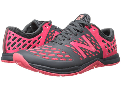 New Balance - WX20v4 (Lead/Bright Cherry) Women's Shoes