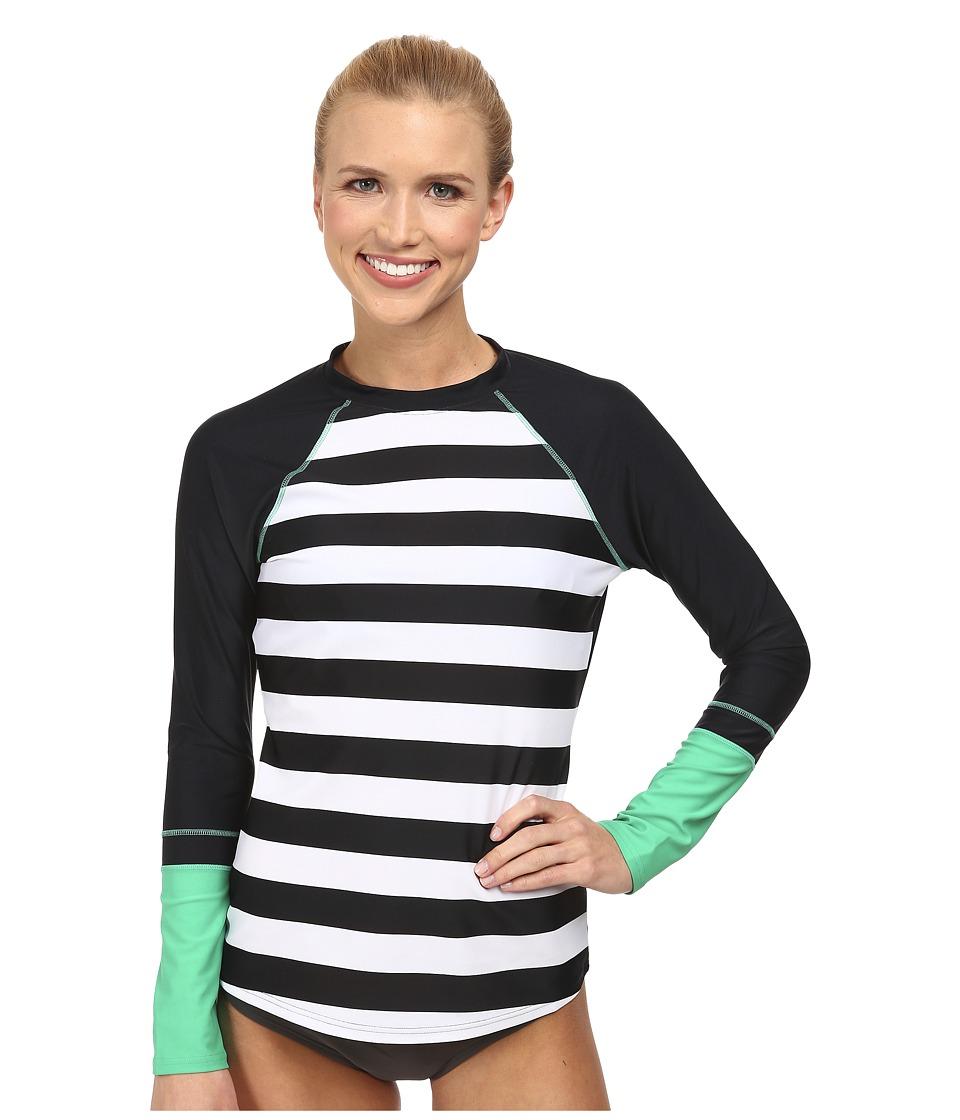 Prana - Lorelei Sun Top (Black) Women's Swimwear