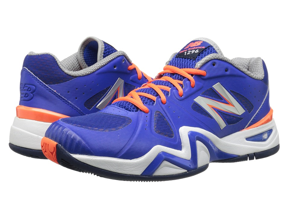 New Balance - 1296v1 (Blue/Orange) Men's Tennis Shoes