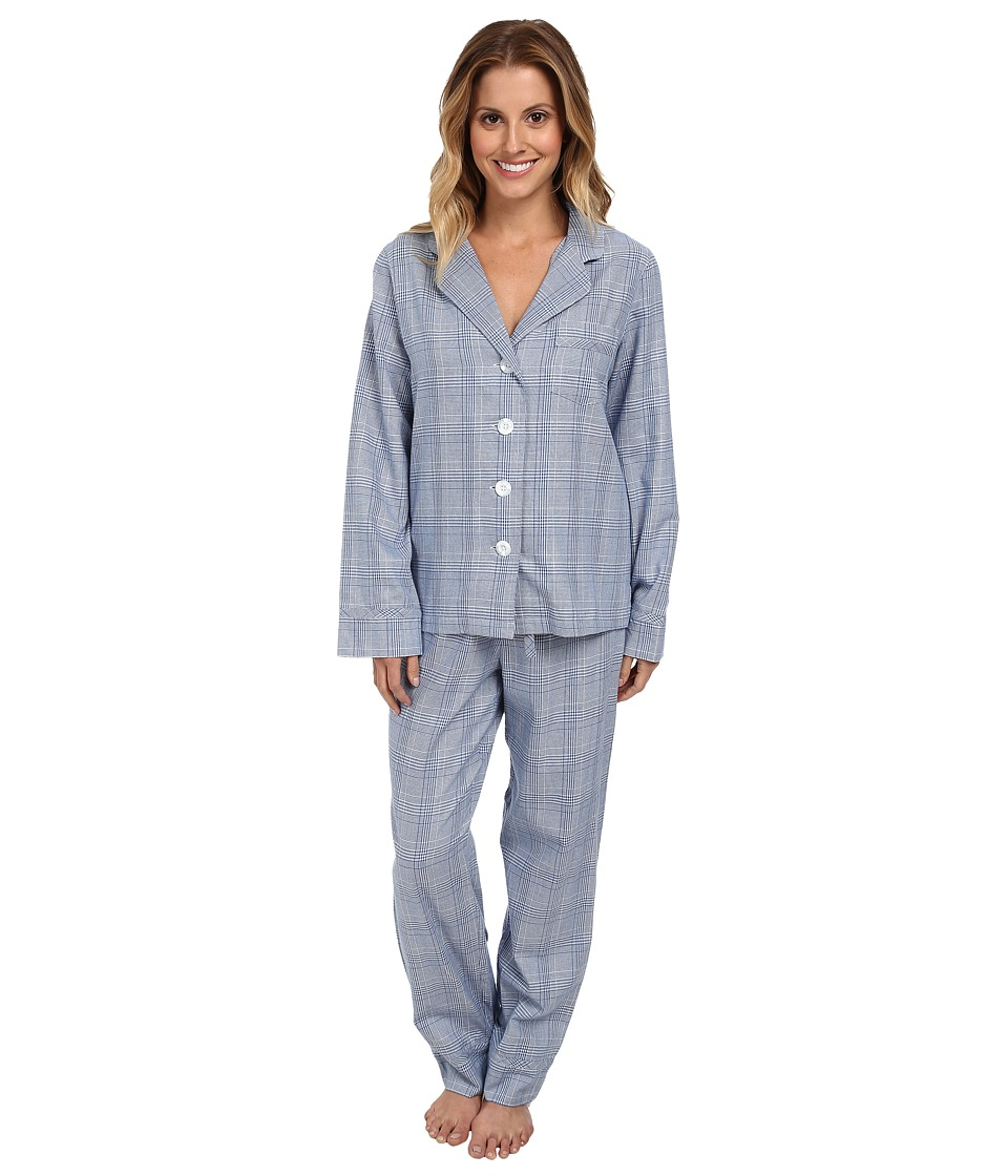 Pendleton - 2-Piece PJ Set (Dutch Blue Glen Plaid) Women's Pajama Sets