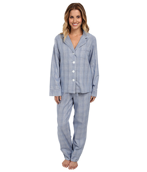 Pendleton - 2-Piece PJ Set (Dutch Blue Glen Plaid) Women's Pajama Sets