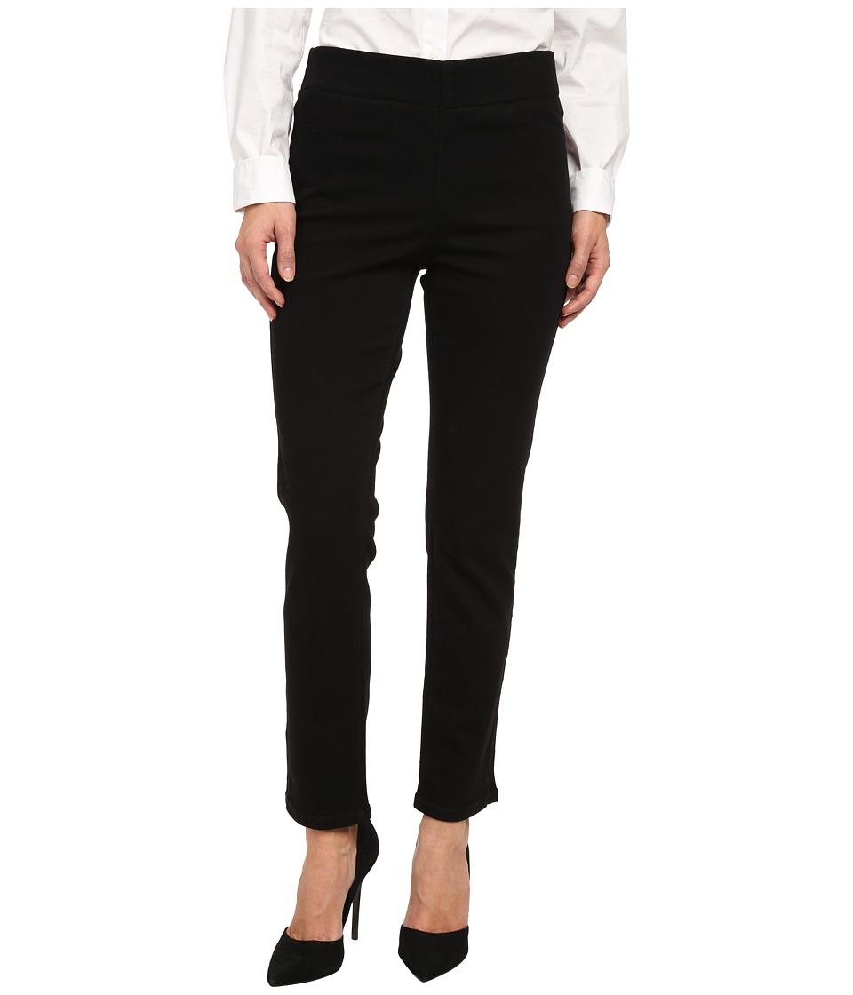 NYDJ Petite - Petite Millie Ankle in Black (Black) Women's Jeans