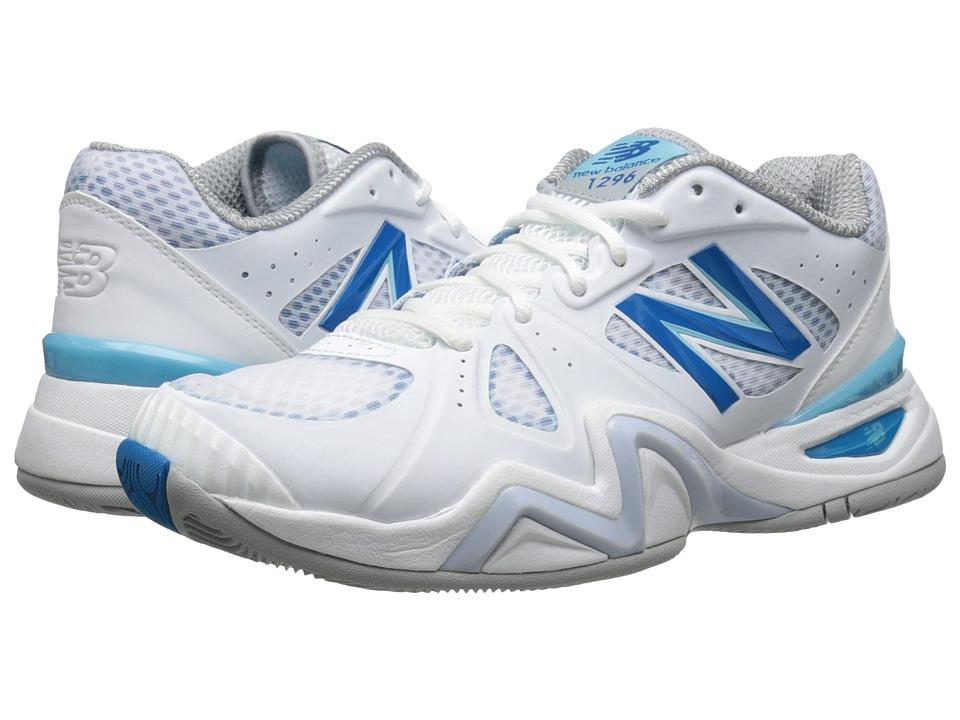New Balance 1296v1 (White/Blue) Women