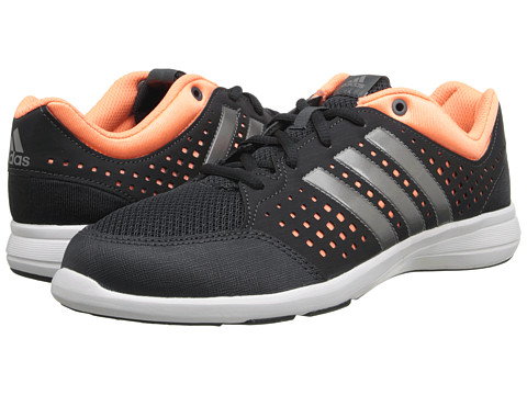 adidas - Arianna III (Dark Grey/Iron Metallic/Flash Orange) Women's Cross Training Shoes
