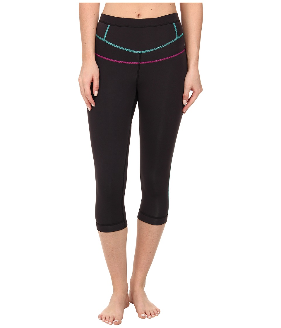 Prana - Ara Swim Tight (Black) Women's Swimwear