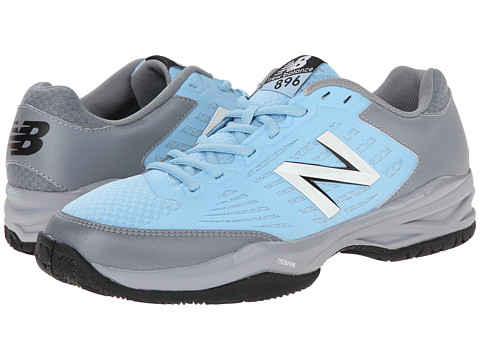 New Balance - MC896 (Light Grey/Light Blue) Men's Tennis Shoes