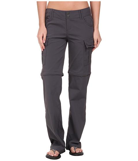 Prana - Sage Convertible Pant (Coal) Women's Casual Pants
