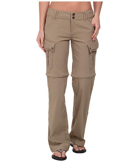 Prana - Sage Convertible Pant (Dark Khaki) Women