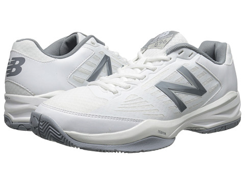 New Balance WC896 White/Silver Women's Running Shoes 8468173