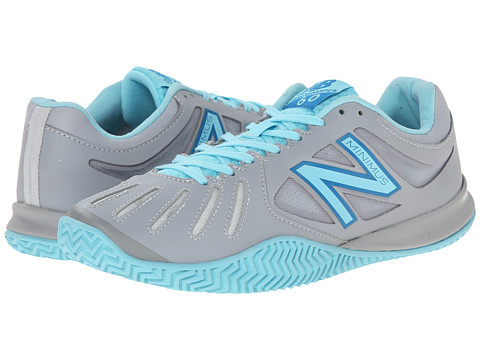 UPC 888546431874 product image for New Balance - 60v1 (Silver/Blue) Women's  Tennis ...
