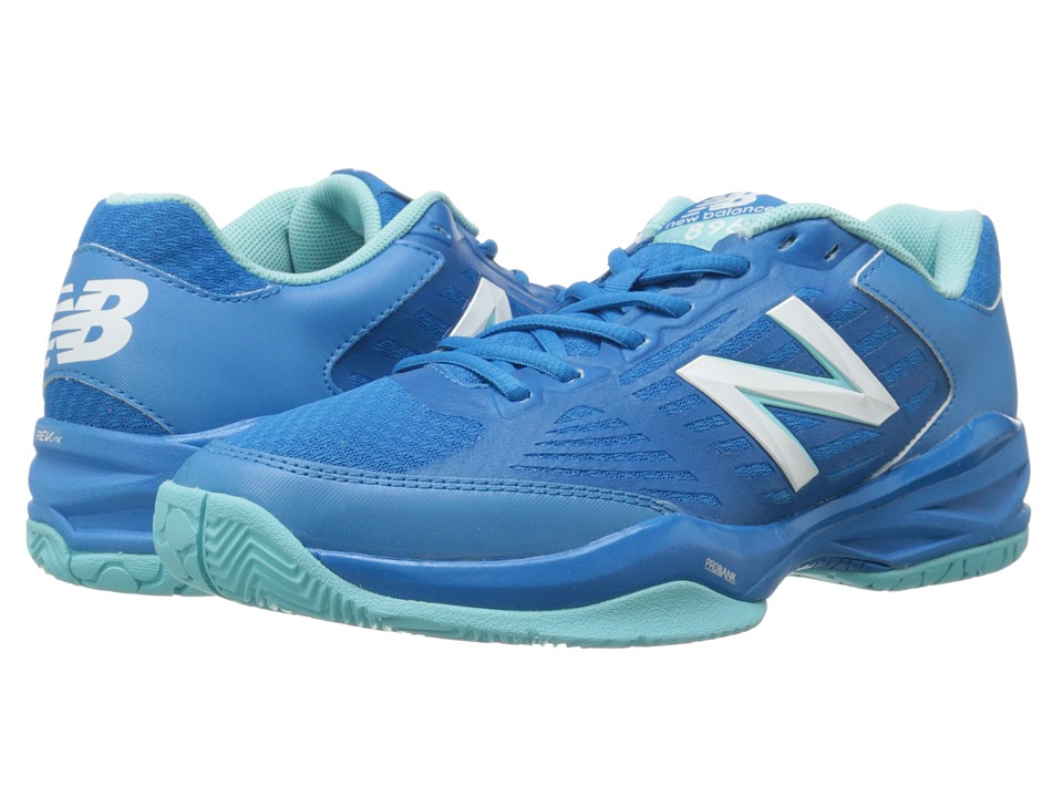 New Balance - WC896 (Dark Blue/Light Blue) Women's Tennis Shoes