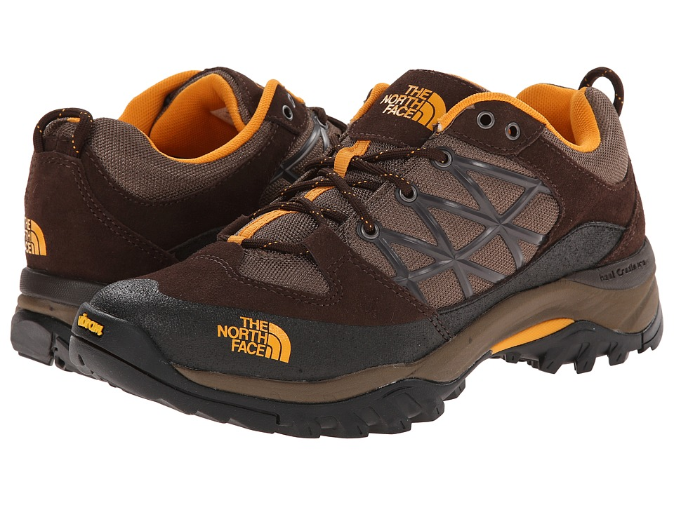 The North Face - Storm (Demitasse Brown/Brushfire Orange) Men's Shoes