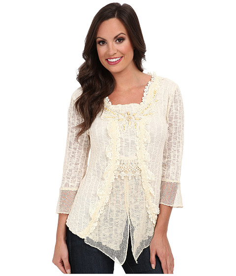 Scully - Honey Creek Eliza Blouse (Natural) Women