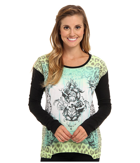 Fox - Cordova Long Sleeve (Day Glo Green) Women's T Shirt