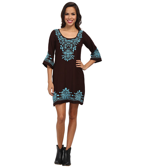 Scully - Trixie Dress (Chocolate) Women's Dress