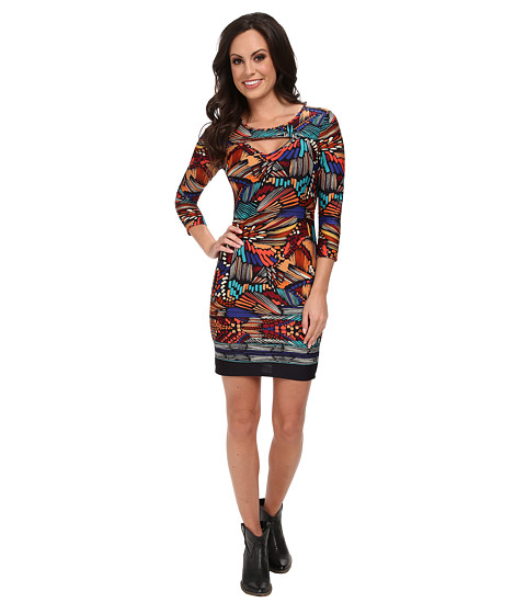 Scully - Daisy Dress (Multi) Women's Dress